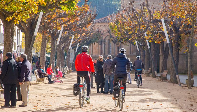 ruta ciutat bicicleta