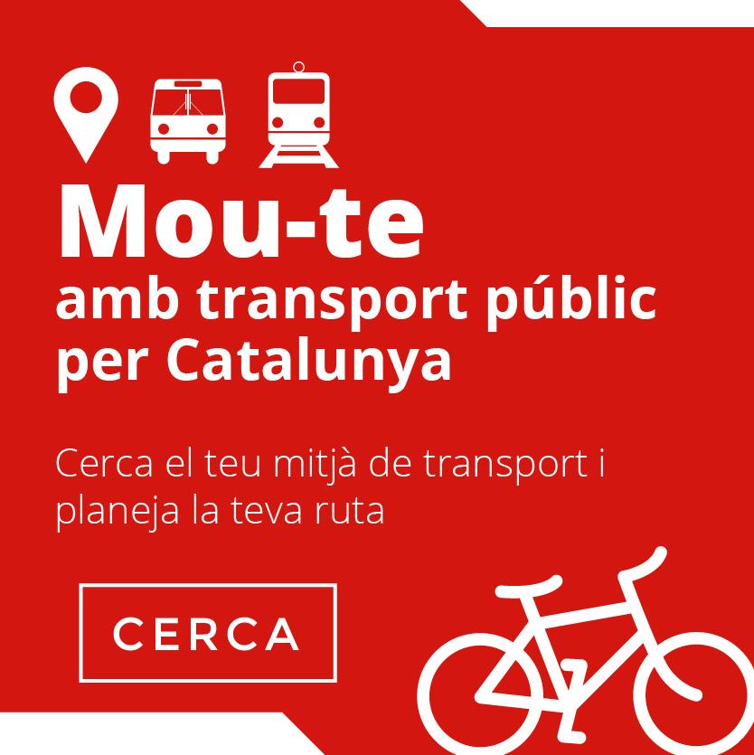 MOBILITAT catalunya transport públic generalitat