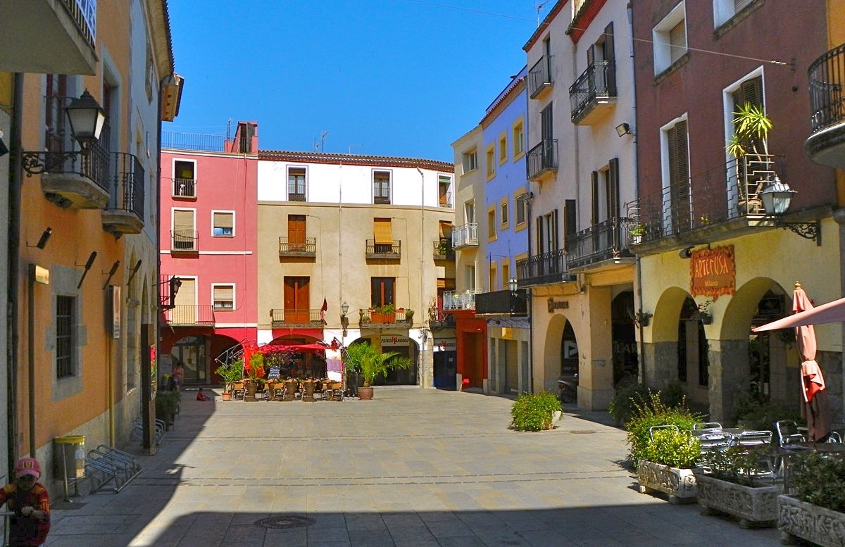 Ruta turística deportiva por Castelló de Empúries