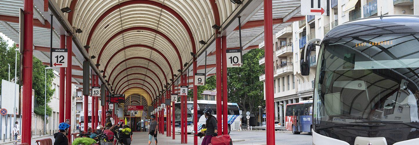 estació autobusos transport public