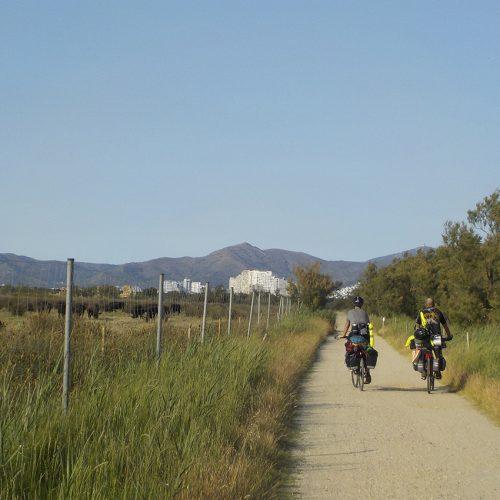 Ruta ciclista Figueres a Roses